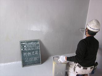 防蝕塗装 2回目